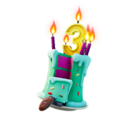 Cake! - Back Bling - Fortnite