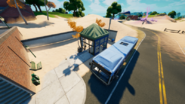 Salty Tilted Bus Stop
