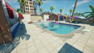 Believer Beach (Hotel Pool Side View) - Location - Fortnite