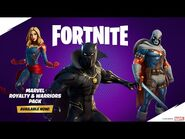 Marvel's Greatest Warriors and Royalty Come To Fortnite