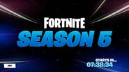 To Be Continued in Season 5 - Countdown - Fortnite