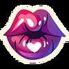 Kiss - Emoticon - Fortnite.png