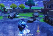 Risky Reels ground - Fortnite