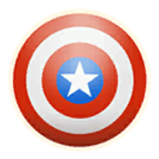 Captain America's Shield (Emoticon)