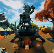 Colossal Crops Statue - Location - Fortnite