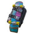 Porte-Skateboard