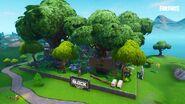 Tropical Treetops - The Block - Fortnite