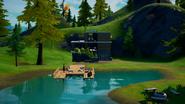 Lakeside Modern House - Lazy Lake - Fortnite