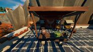 The Spire (Market - Patio Booth) - Location - Fortnite