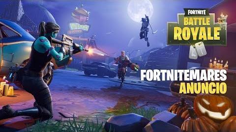 Tráiler de anuncio de Fortnitemares (el modo JcJ)