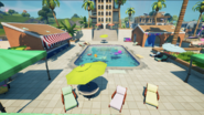 Believer Beach (Hotel Poolside Front View) - Location - Fortnite