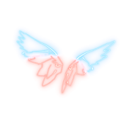 Neon Wings - Back Bling - Fortnite