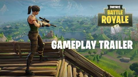 Fortnite Battle Royale – Gameplay-Trailer