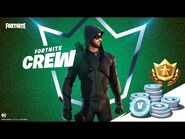 Green Arrow Arrives on the Island for Fortnite Crew Members