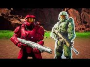 Red vs Blue Introduce New Blood Gulch Fortnite Creative Map