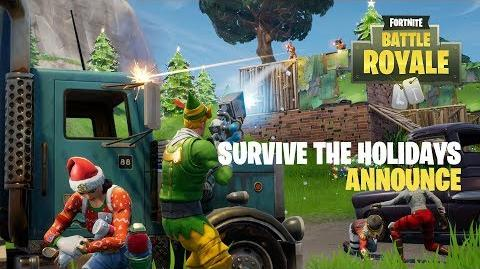 Survive the Holidays (Battle Royale) Announce Trailer
