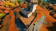 Guardian of the Sea (Cliff Building - Back View) - Landmark - Fortnite