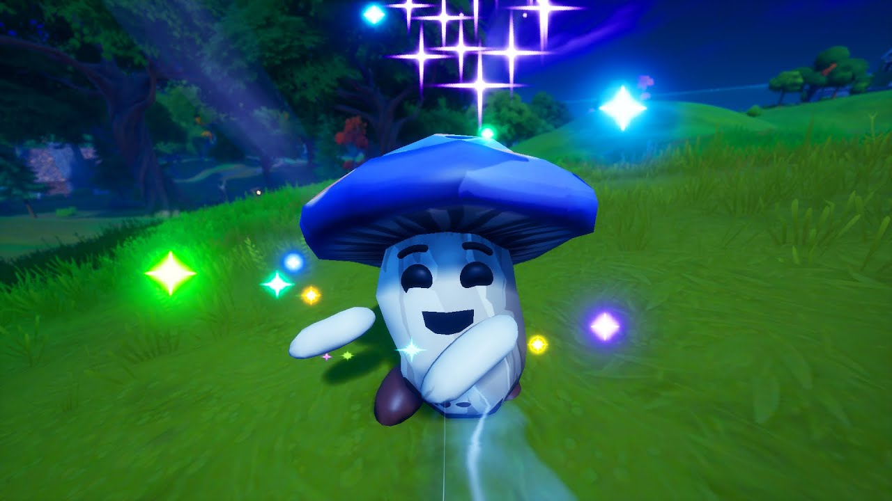 The Secret Mushroom Friend