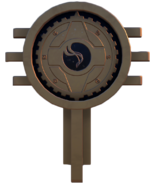 Imagined Order logo (Season 5 POI)