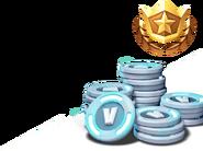 V-Bucks and Battle Pass - Fortnite Crew Rewards - Fortnite