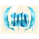 Niveau 100 (Émoticône - Saison 7)