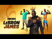 The King Has Arrived- LeBron James Joins Fortnite's Icon Series