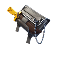 Gold Dagger Pack - Back Bling - Fortnite