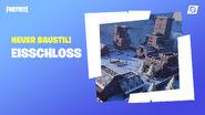 Fortnite Kreativmodus Eisschloss-Fertigobjekte