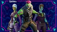 Ghoul Trooper and Brainiac (2021) - Promo - Fortnite