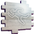 Chalk Outline - Spray - Fortnite