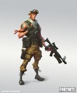 Male Soldier 2 - Prototype - Fortnite