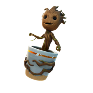 Sapling Groot - Back Bling - Fortnite