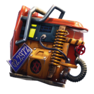 Rust Bucket - Back Bling - Fortnite