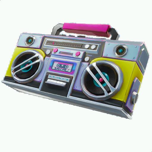 Radiocassette (Accessoire de Dos)