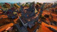 Boney Burbs (Castle Building - Back View) - Location - Fortnite