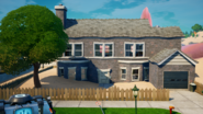 Gray House - Salty Towers - Fortnite
