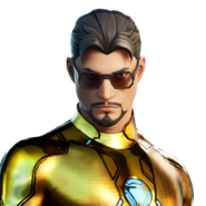 Tony Stark (Gold Foil) - Outfit - Fortnite