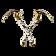 Crocs Intrépides (Doré)