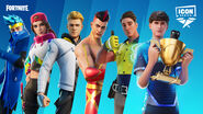 Icon Series Outfits - Promo - Fortnite