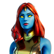 Mystique (Gold Foil) - Outfit - Fortnite
