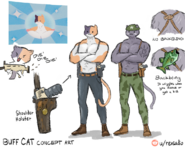Meowscles (Buff Cat) - Concept - Fortnite