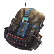 Pursuit - Back Bling - Fortnite
