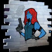 True Mystique - Spray - Fortnite