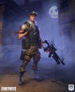 Male Soldier 1 - Prototype - Fortnite