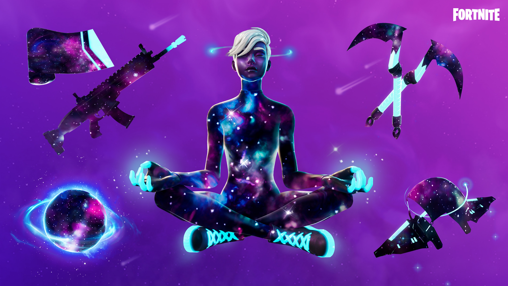Galaxy Pack Set Fortnite Wiki Responsible for lighting the galaxia character. galaxy pack set fortnite wiki