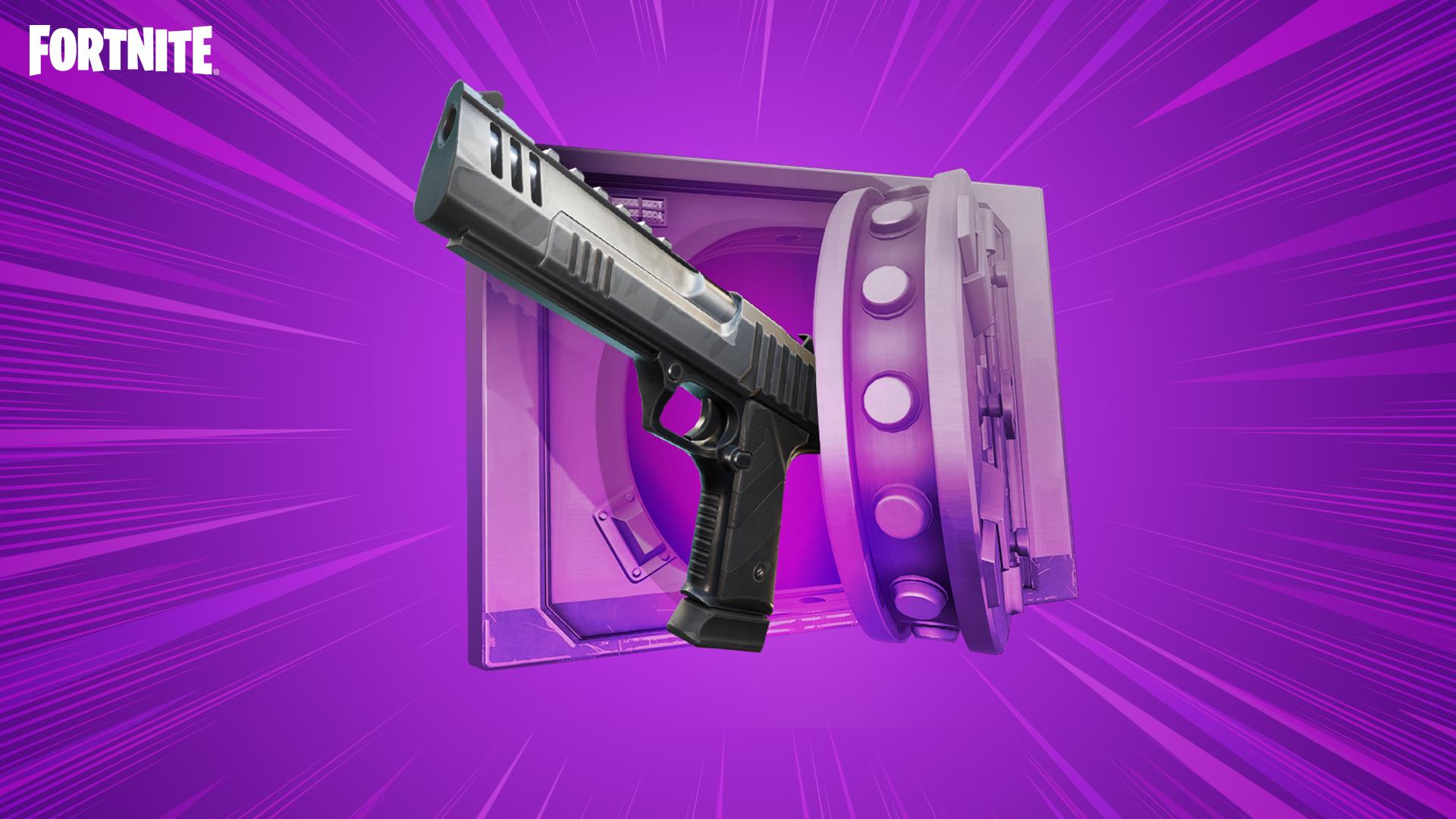 New Fortnite Scoped Revolver Hand Cannon Battle Royale Fortnite Wiki