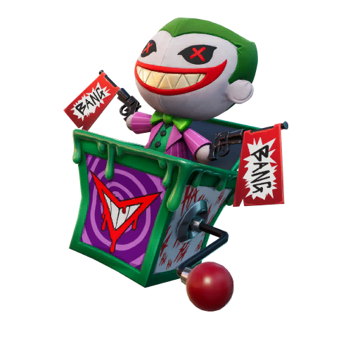 Laugh Riot Back Bling Fortnite Wiki The last laugh bundle will contain the most emblematic villain of the dc universe: laugh riot back bling fortnite wiki