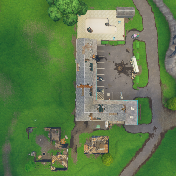 Where Are The Rv Parks And Motels In Fortnite Motel Vacanic Poi Fortnite Wiki