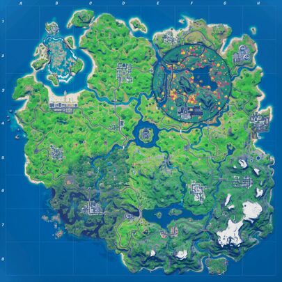 Battle Royale Map Fortnite Wiki Fandom