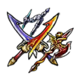 Twin-Blade Swordsman Rare Equipment Set